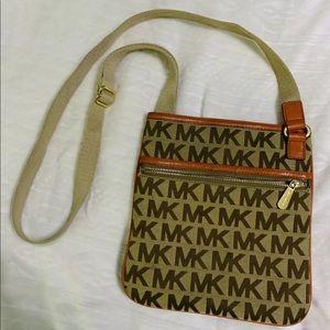 Michael Kors MK Bedford Logo Crossbody Bag